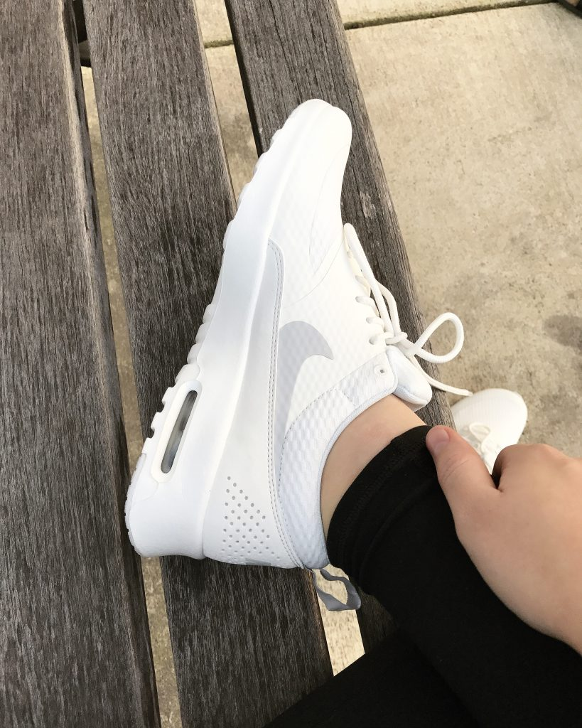 Styling All White Sneakers