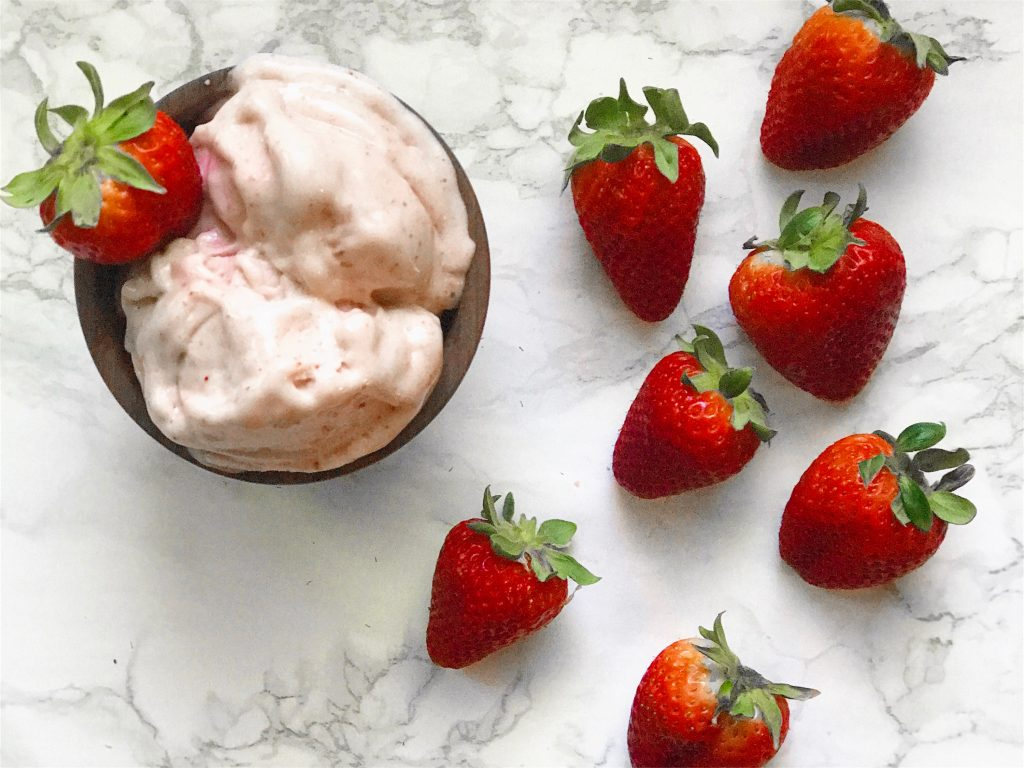 Strawberry Banana Vegan Ice Cream: Quick and Easy Recipe!