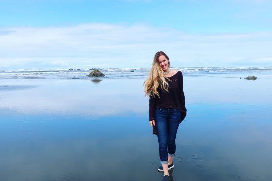 Casual Beachwear Ruby Beach, Washington