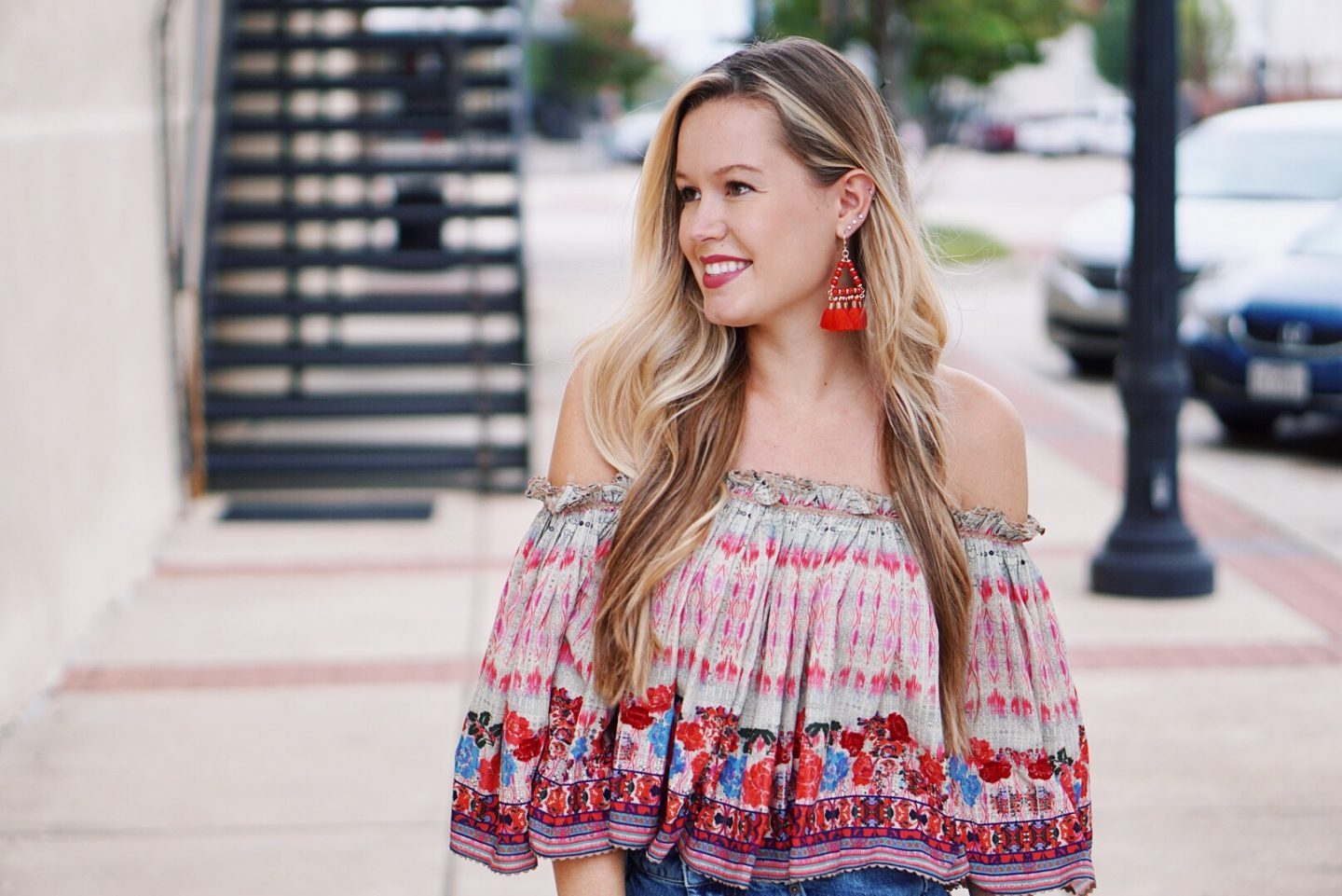 Flirty and Fun in Floral and Fringe!