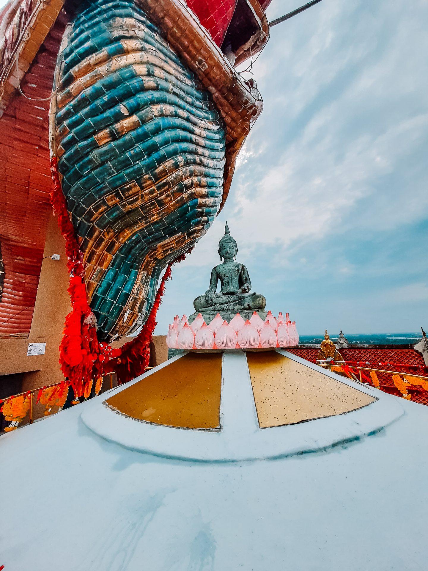Viewpoint from Wat Samphran