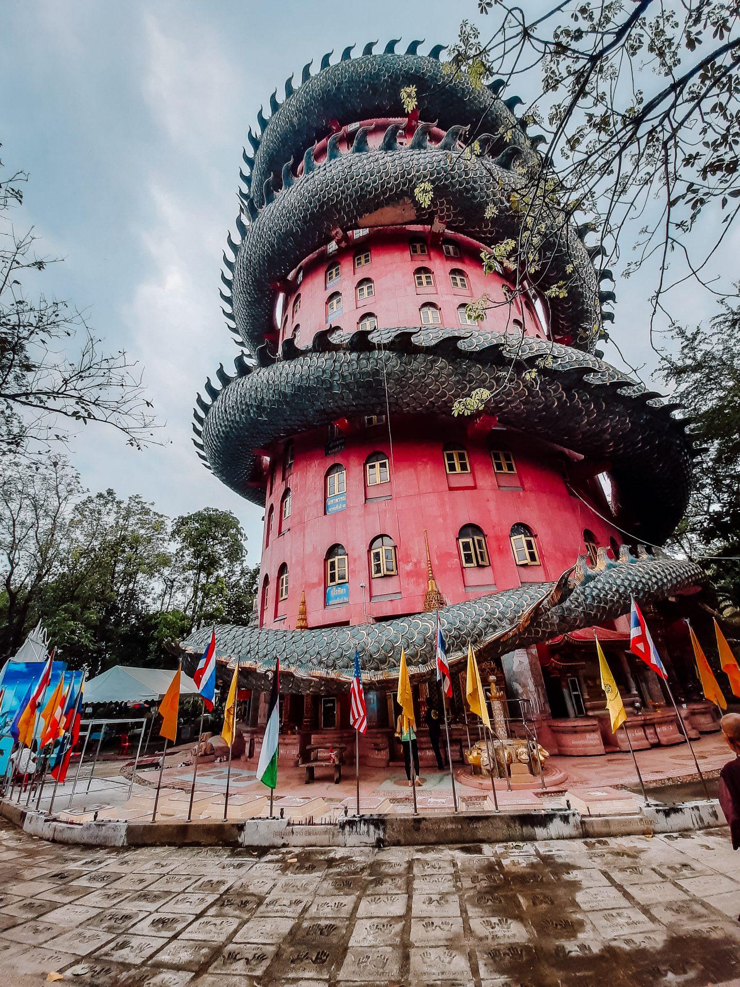 Wat Samphran Dragon Temple Bangkok